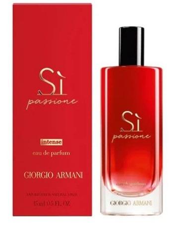 Парфюмерная вода 15 мл Giorgio Armani Si Passione Intense