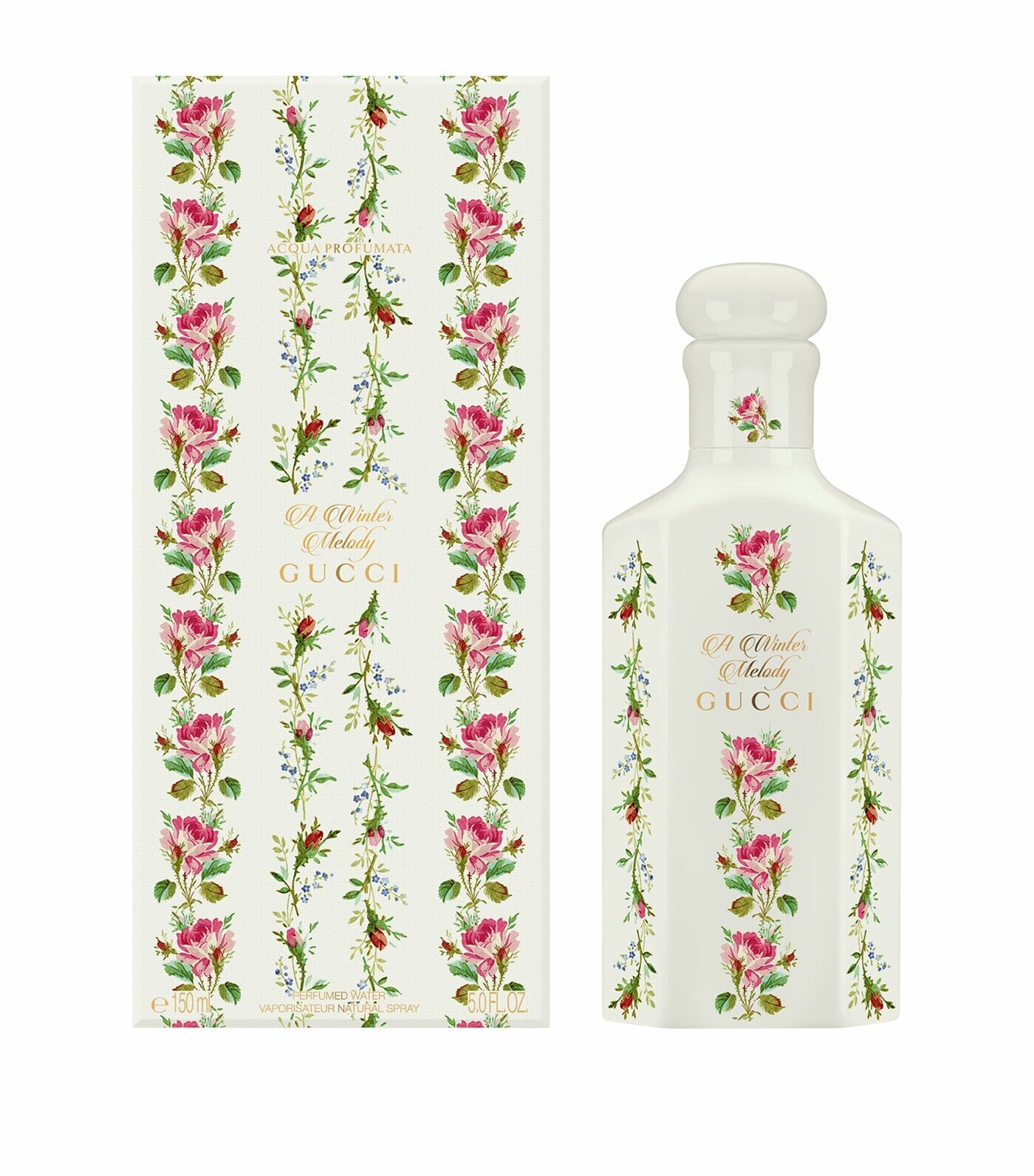 Ароматическая вода 150 мл Gucci A Winter Melody Scented Water