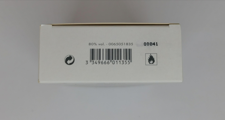 Туалетная вода (тестер) 100 мл Paco Rabanne Ultraviolet - фото штрих-кода и батч-кода на коробке