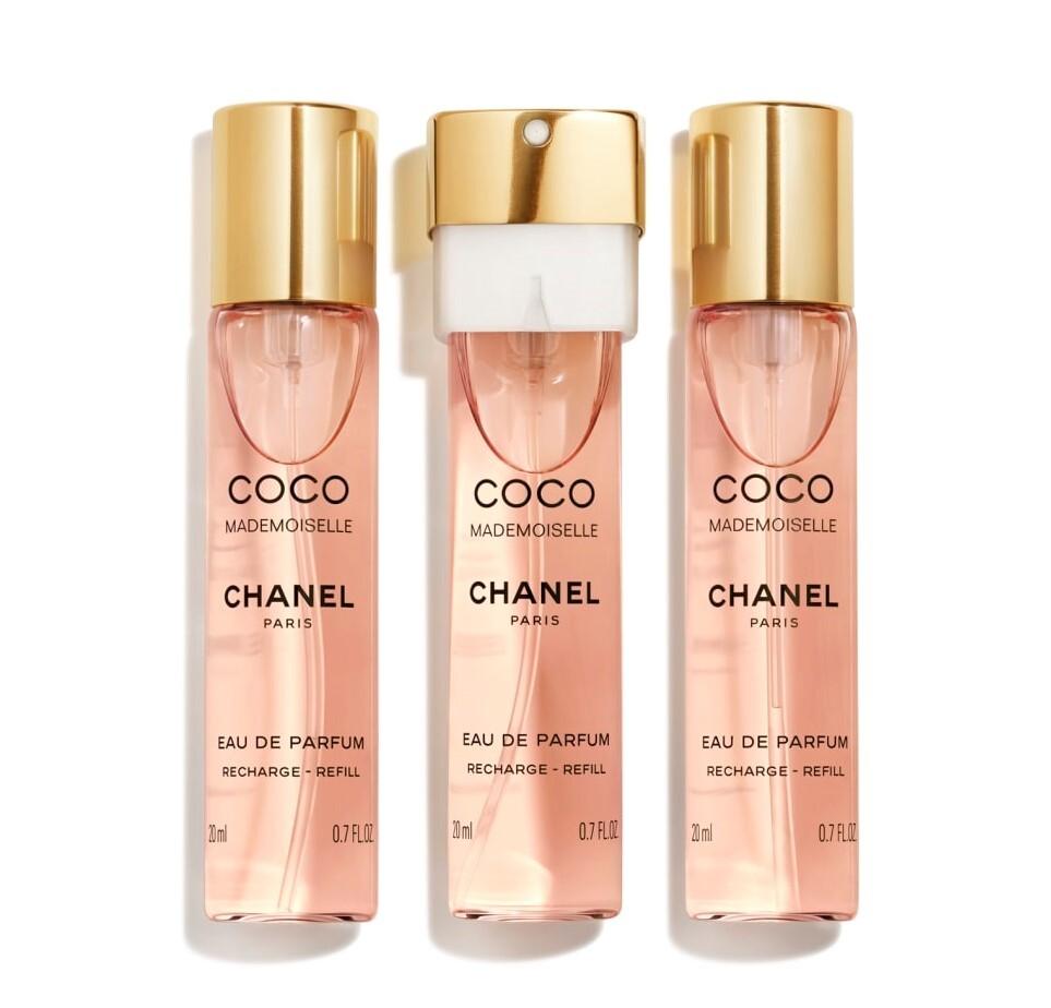 Набор (парфюмерная вода 20 мл x 3 шт.) Chanel Coco Mademoiselle