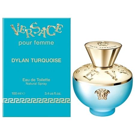 Туалетная вода 100 мл Versace Dylan Turquoise Pour Femme