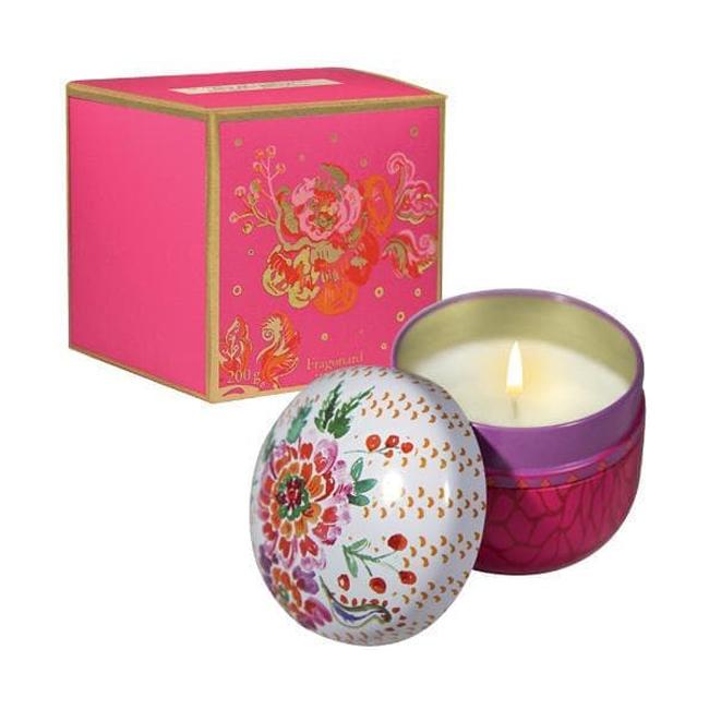 Свеча 200 гр Fragonard Laurier Rose Cedre Candle
