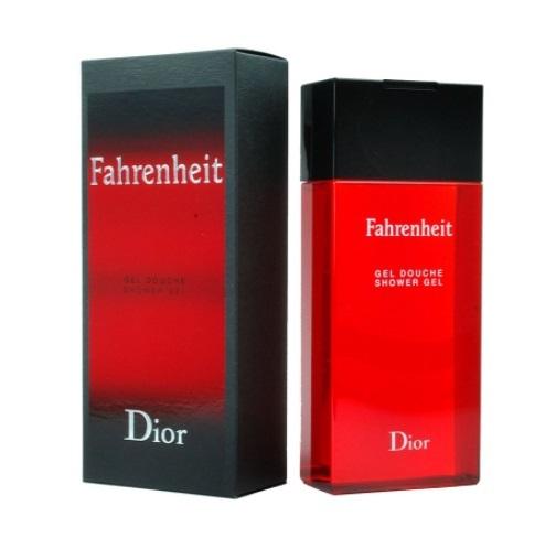 Гель для душа 200 мл Christian Dior Fahrenheit