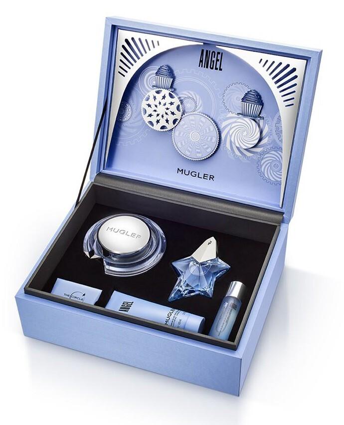Набор (парфюмерная вода 50 мл + гель для душа 100 мл + крем для тела 200 мл + аромат для волос 30 мл) Thierry Mugler Angel