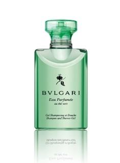 Гель для душа 40 мл Bvlgari Eau Parfumee Au The Vert