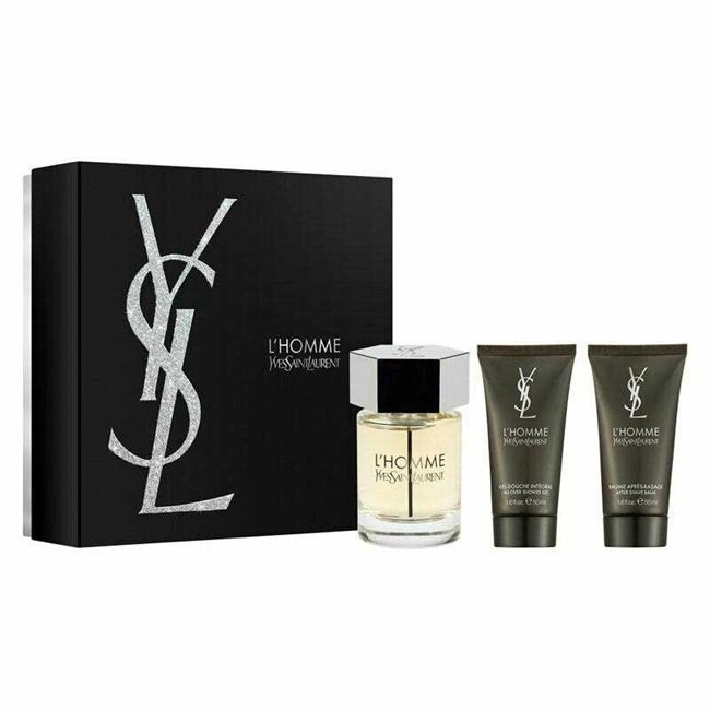 Набор (туалетная вода 100 мл + гель для душа 50 мл + бальзам после бритья 50 мл) Yves Saint Laurent L Homme