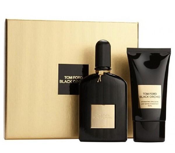 Набор (парфюмерная вода 50 мл + лосьон для тела 75 мл) Tom Ford Black Orchid