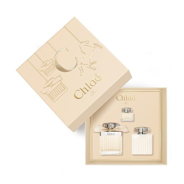Набор (парфюмерная вода 75 мл + парфюмерная вода 5 мл + лосьон для тела 100 мл) Chloe Chloe Eau de Parfum