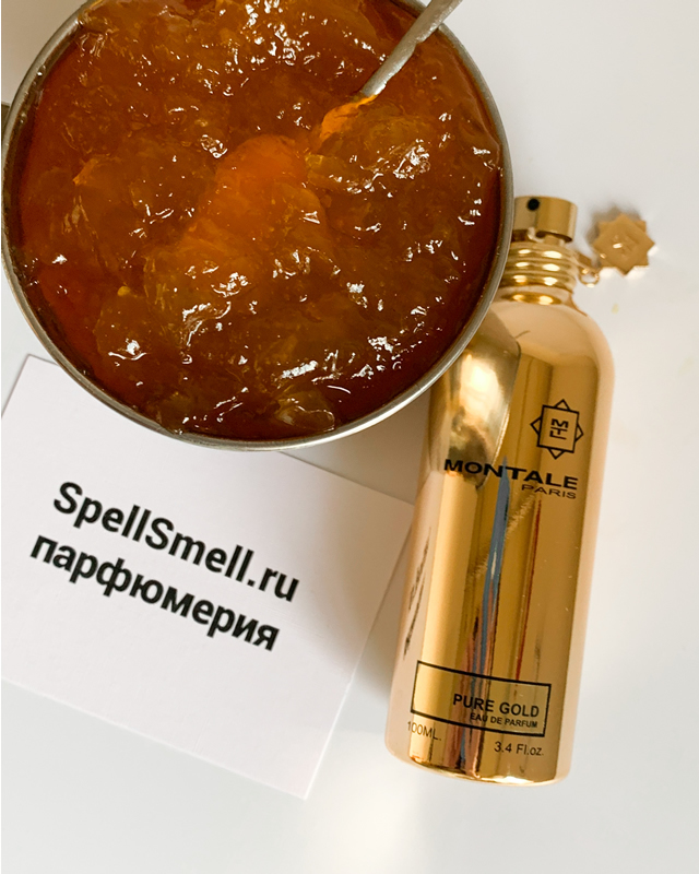 Парфюмерная вода 100 мл Montale Pure Gold