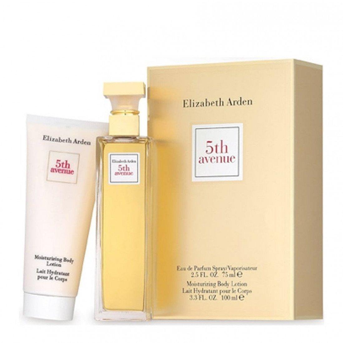 Набор (парфюмерная вода 75 мл + лосьон для тела 100 мл) Elizabeth Arden 5th Avenue
