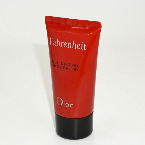 Гель для душа 50 мл Christian Dior Fahrenheit
