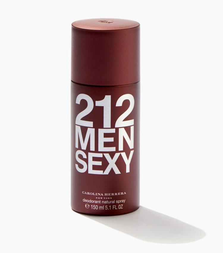 Дезодорант-спрей 150 мл Carolina Herrera 212 Sexy Men