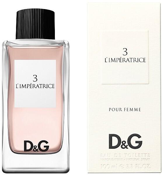 Туалетная вода 100 мл Dolce & Gabbana DG Anthology L Imperatrice 3