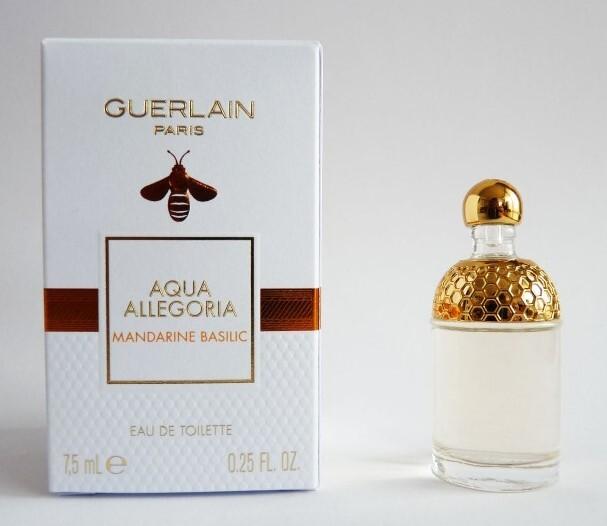 Туалетная вода 7.5 мл Guerlain Aqua Allegoria Mandarine Basilic