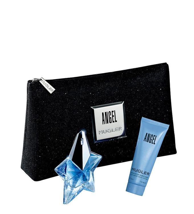 Набор (парфюмерная вода 25 мл + лосьон для тела 50 мл + аксессуар) Thierry Mugler Angel