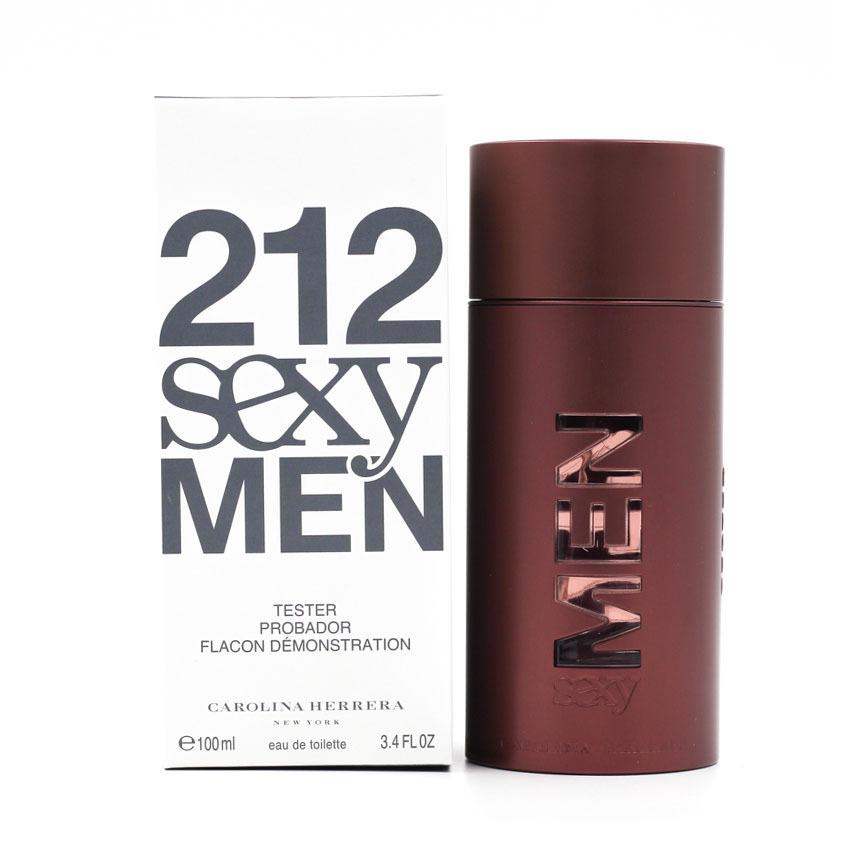 Туалетная вода (тестер) 100 мл Carolina Herrera 212 Sexy Men