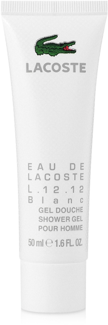 Гель для душа 50 мл Lacoste L 12 12 Blanc