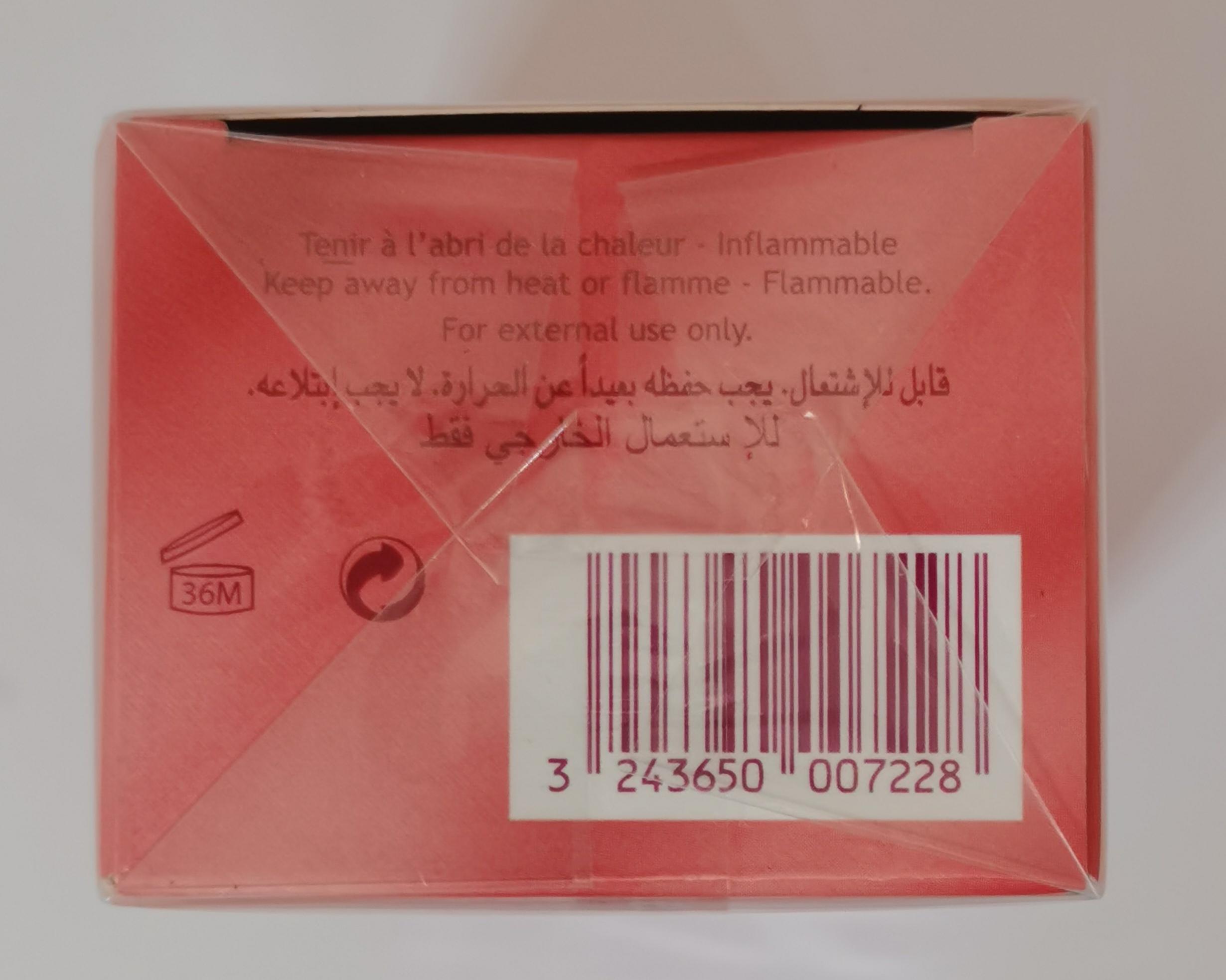 Парфюмерная вода 50 мл Pacoma Cassilia - фото штрих-кода на коробке