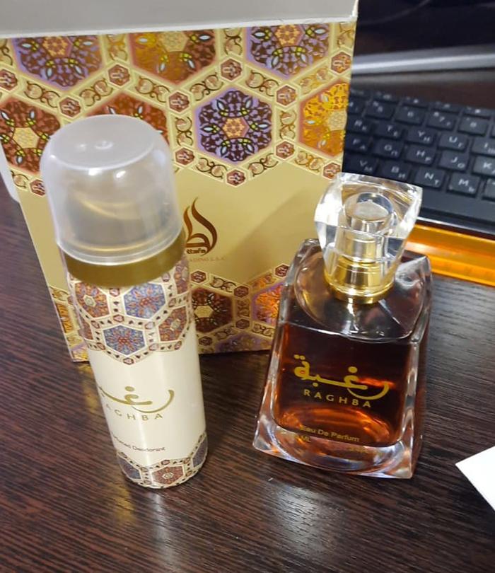 Парфюмерная вода 100 мл Lattafa Perfumes Raghba